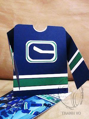 Hockey Night In Canada Canucks Jersey Card Make It Sweet And Neat Canucks Hockey Mom Jersey