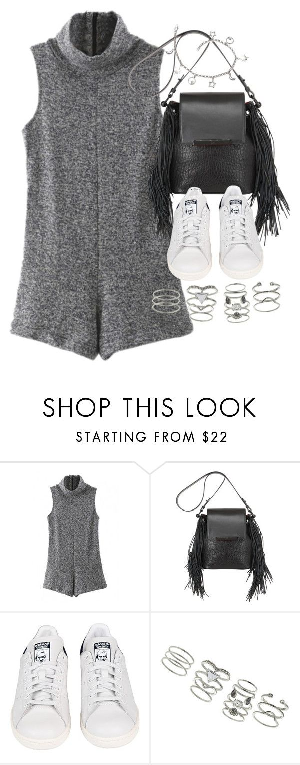 """""""Untitled #1700"""" by sophiasstyle ❤ liked on Polyvore featuring Christian Louboutin, adidas and Miss Selfridge"""