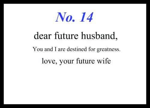 Pin By Alexandra Meier On Notes To My Future Husband