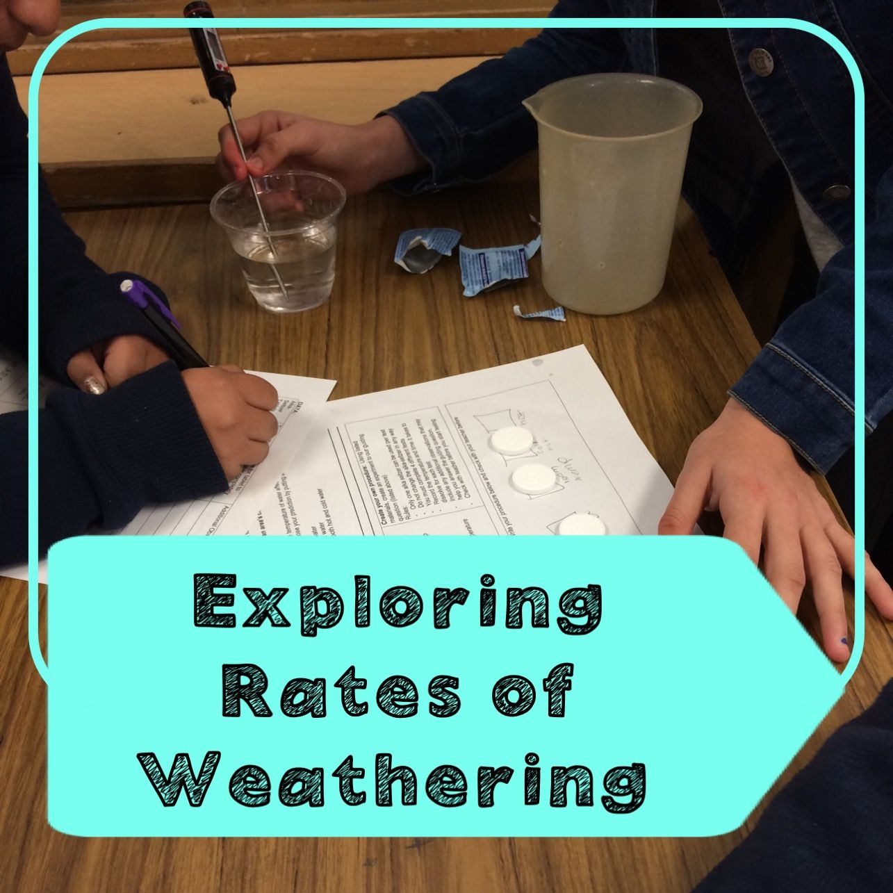 Rates Of Weathering Lab