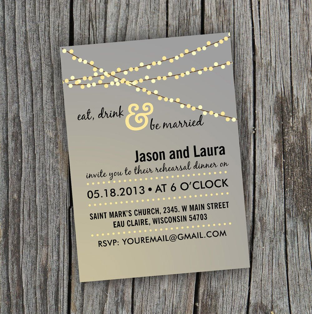 It is a photo of Inventive Free Printable Rehearsal Dinner Invitations