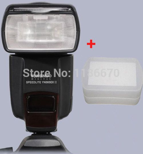 YN 565EX II YN565EXII YN565EX 565 YN565 EX Wireless TTL Flash Speedlite For Canon SLR Digital Camera Diffuser Affiliate