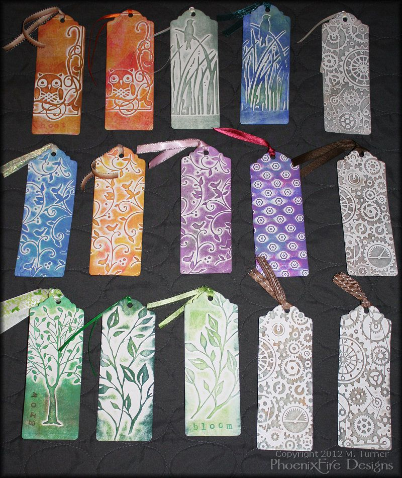 Bookmarks And More Bookmarks Paper Crafts Scrapbooking Atcs