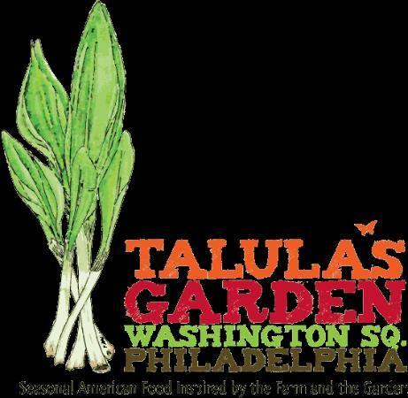Reserve a table at Talula's Garden, Philadelphia on TripAdvisor: See 734 unbiased reviews of Talula's Garden, rated 4.5 of 5 on TripAdvisor and ranked #4 of 3,978 restaurants in Philadelphia.