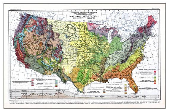 USA Map, US Map, United States Map, Push Pin Map, Travel Map ...