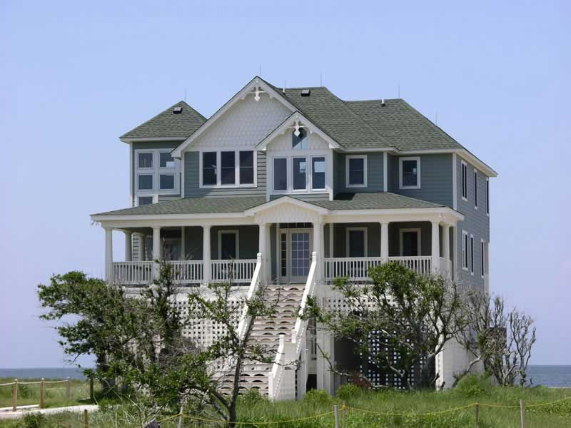 Beachfront Style Home With 4 Bdrm 2398 Sq Ft House Plan 130 1007 Coastal House Plans Beach House Floor Plans Beachfront House