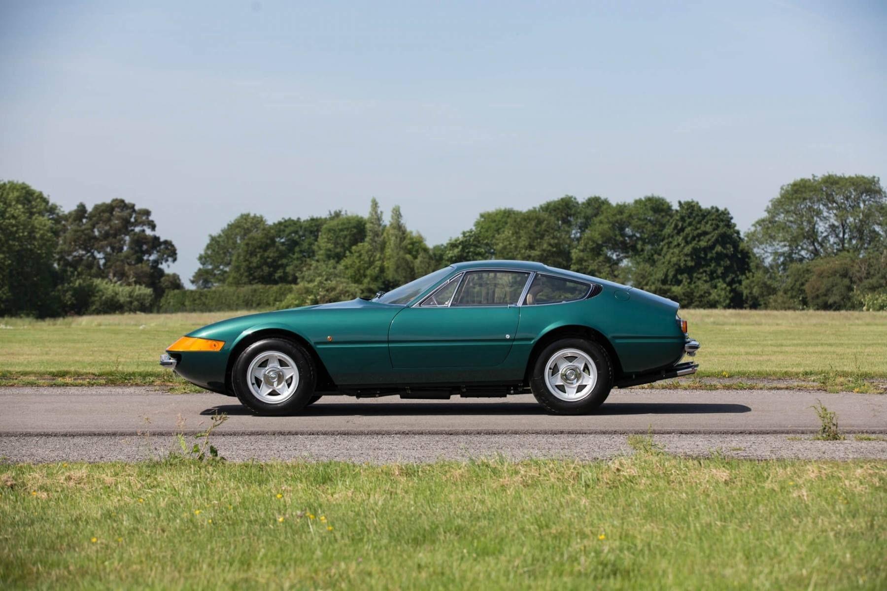 1969 Ferrari 365 Gtb  4 Daytona Ch U00e2ssis 13921 Verde Pino
