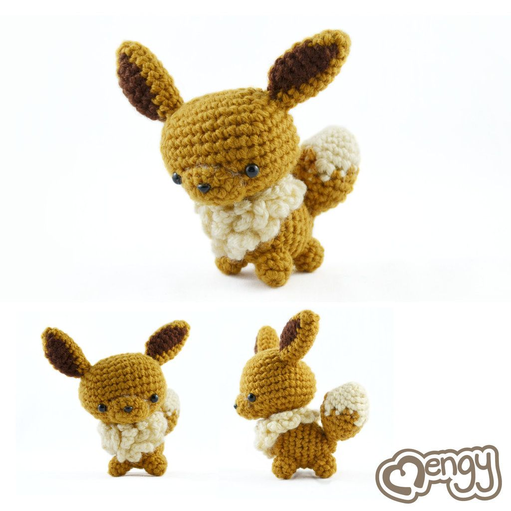 Eevee Pokemon Amigurumi by mengymenagerie.deviantart.com on ...