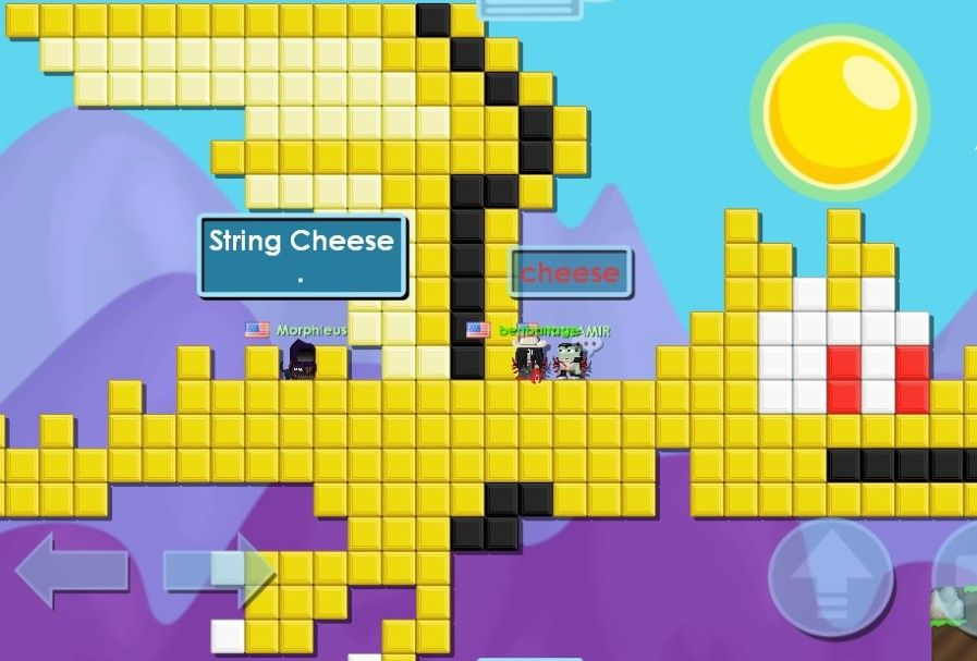 The Cheese Dragon. Spits out Hot, Tasty Melted Cheese(Its