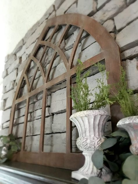 DIY Gothic Cathedral Window Frame (Fixer Upper Inspired) | Window ...