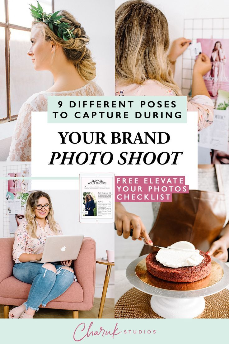 9 Different Poses To Capture During Your Brand Photo Shoot