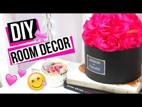 DIY ROOM DECOR HOW TO MAKE CUTE ROOM DECOR! - YouTube