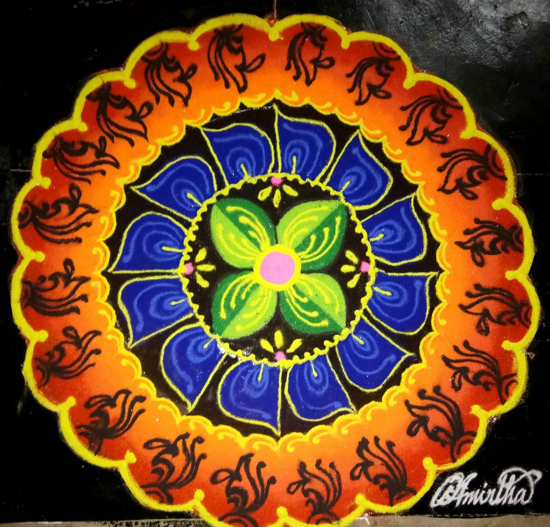 Decorative plates image by Vijayalakshmi on Kolam | Decor ...