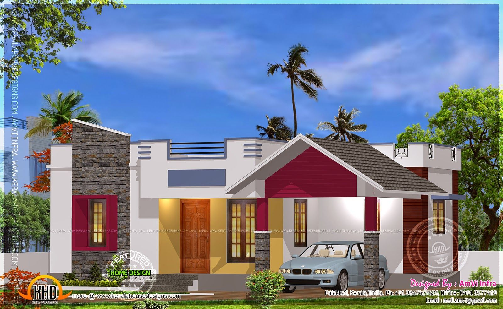 Pin By Sunil Chaudhary On Espacios Para Sonar Kerala House Design Model House Plan Kerala Houses