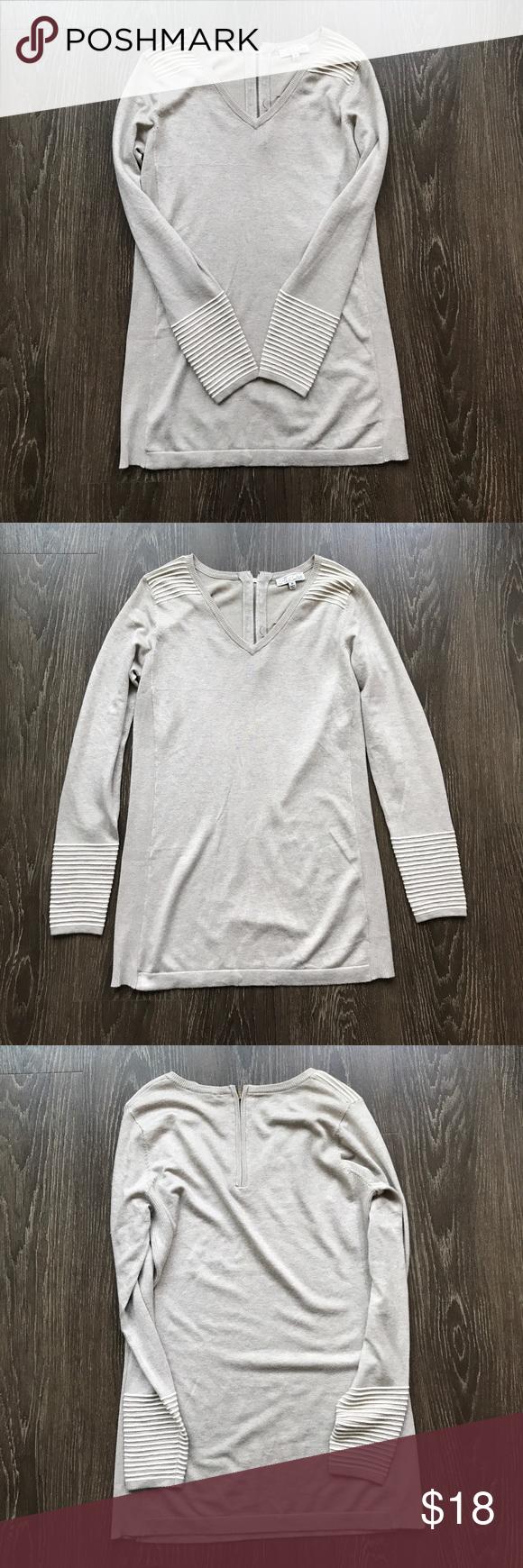 Tunic Sweater | Tunic sweater, Dark skinny jeans and Tunics