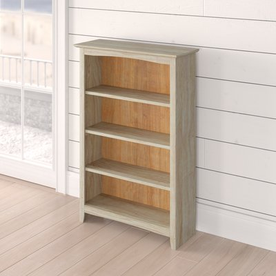 Beachcrest Home Sandstrom Standard Bookcase Bookcase House
