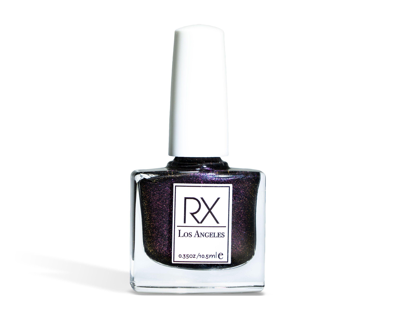 Moonstone Shimmery Purple Rx Nail Polish Vegan 10 Free