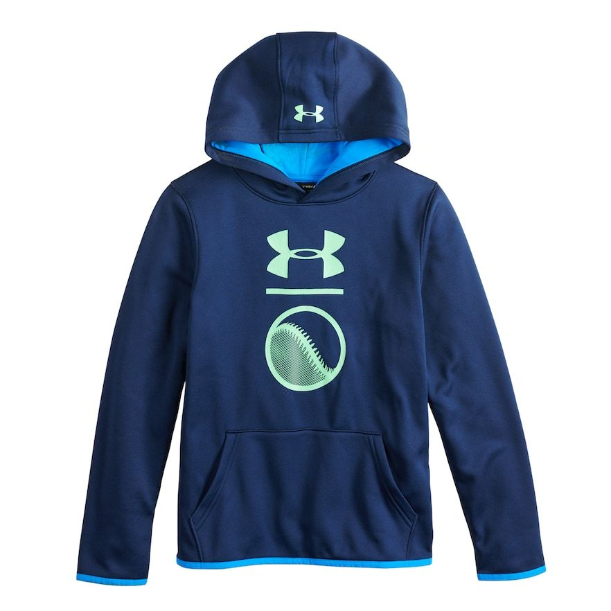 4bfbd10487 Boys 8-20 Under Armour Armour Fleece Hoodie, Size: Medium, Dark Blue ...
