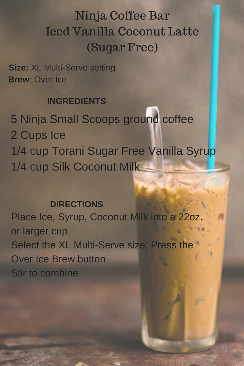 How To Save 1800 While Drinking A Vanilla Latte Recipe Ninja Coffee Bar Recipes Ninja Coffee Coffee Drink Recipes