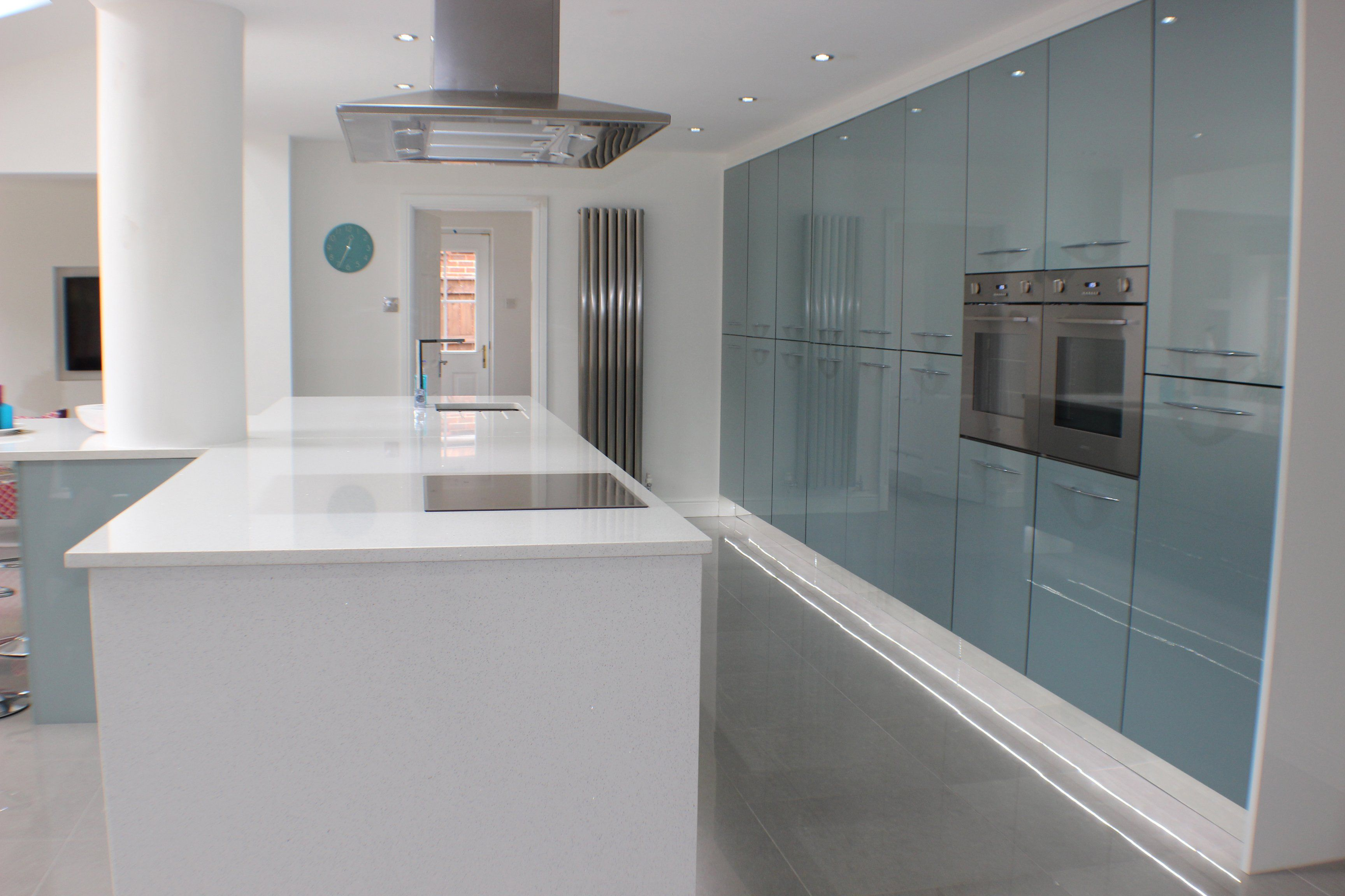 Peachy High Gloss Acrylic Astral Blue Duck Egg Blue John Beutiful Home Inspiration Xortanetmahrainfo