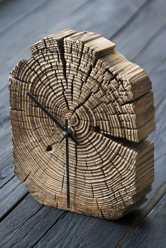 Holzi Holzi Holz, Deko Holz, Holz Kreativ, Holz Ideen, Diy Uhr, Tipps Fürs  Leben, Holzskulpturen, Ziegel, Altholz