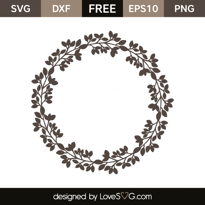 FREE SVG CUT FILE for Cricut, Silhouette and more *** Leaves ...