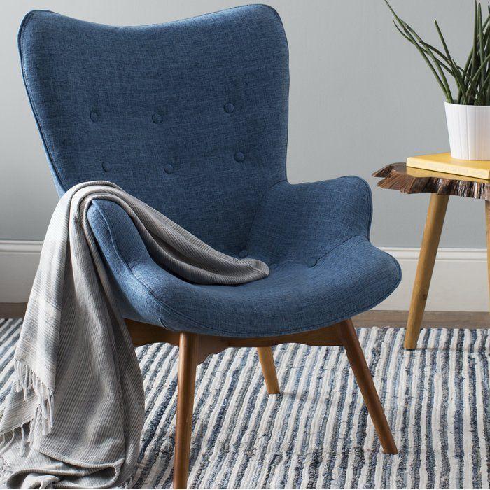 Best Canyon Vista Lounge Chair Chair Blue Velvet Dining 400 x 300