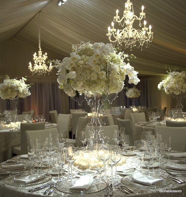 Evening Wedding Reception Decoration Ideas: Remarkable Wedding Reception Ideas From Stoneblossom