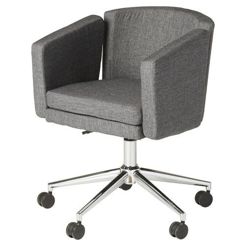 Found it at AllModern - Metro Club Mid-Back Task Chair