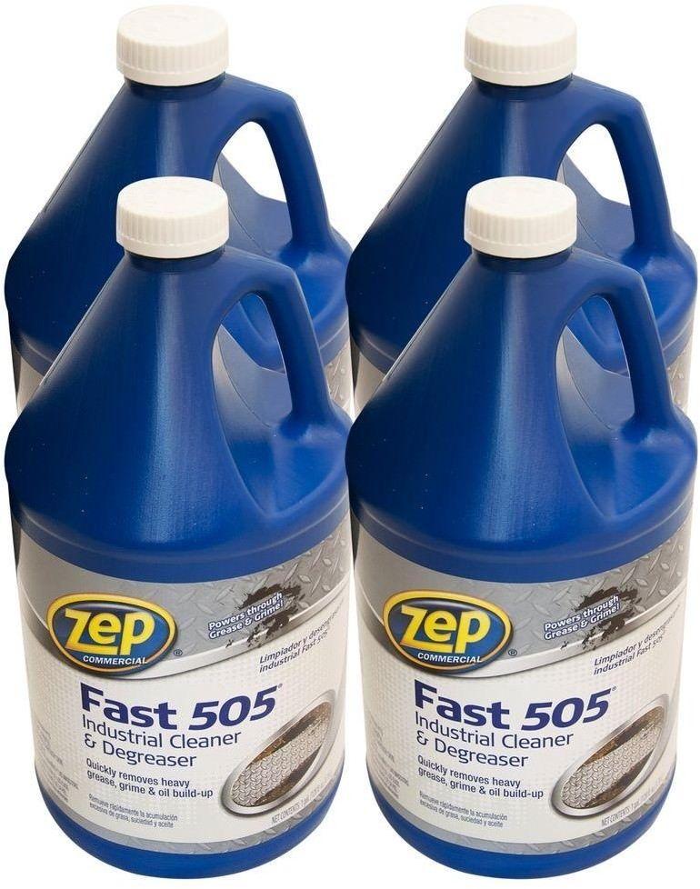 Zep 128 Oz Fast 505 Industrial Grade Liquid Cleaner Degreaser