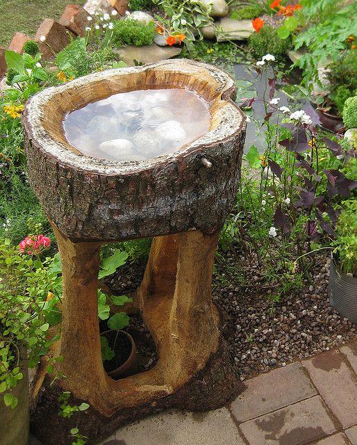 Sogs Flower Show Allotment Garden Bird Bath Diy Bird Bath Rustic Bird Baths