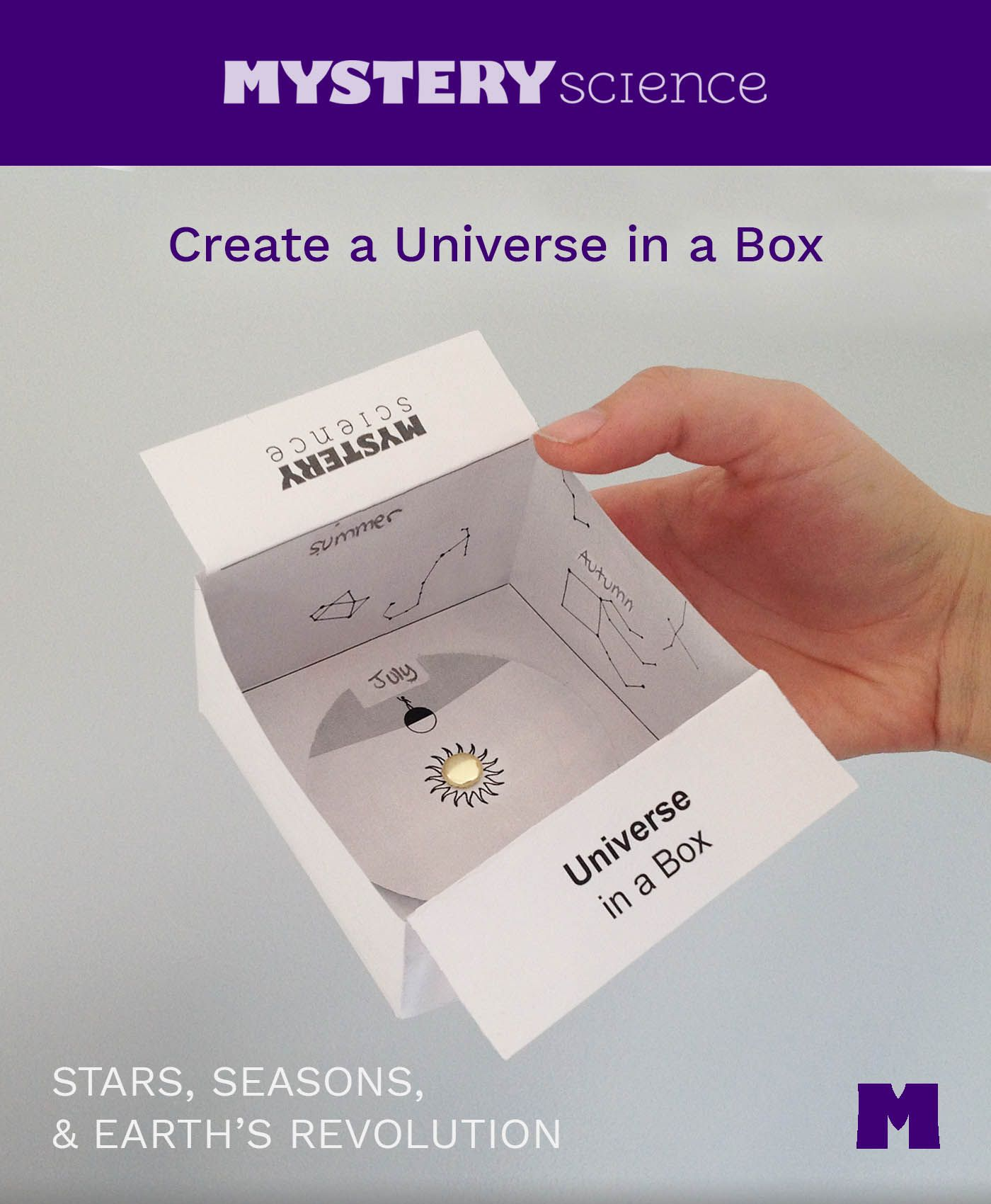 This Mystery Science Astronomy Lesson Is Terrific The Visual On The Video Explaining How You