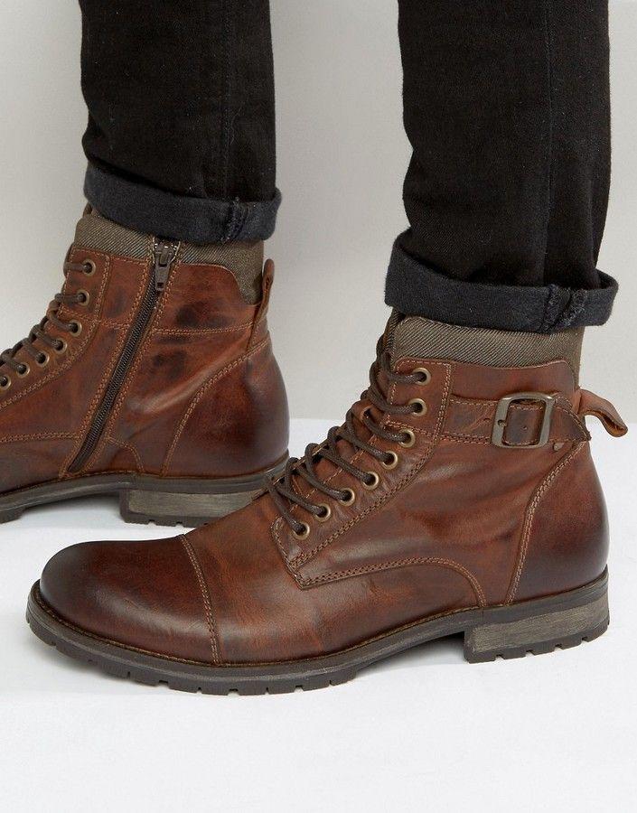 Jack & Jones Albany Leather Boots