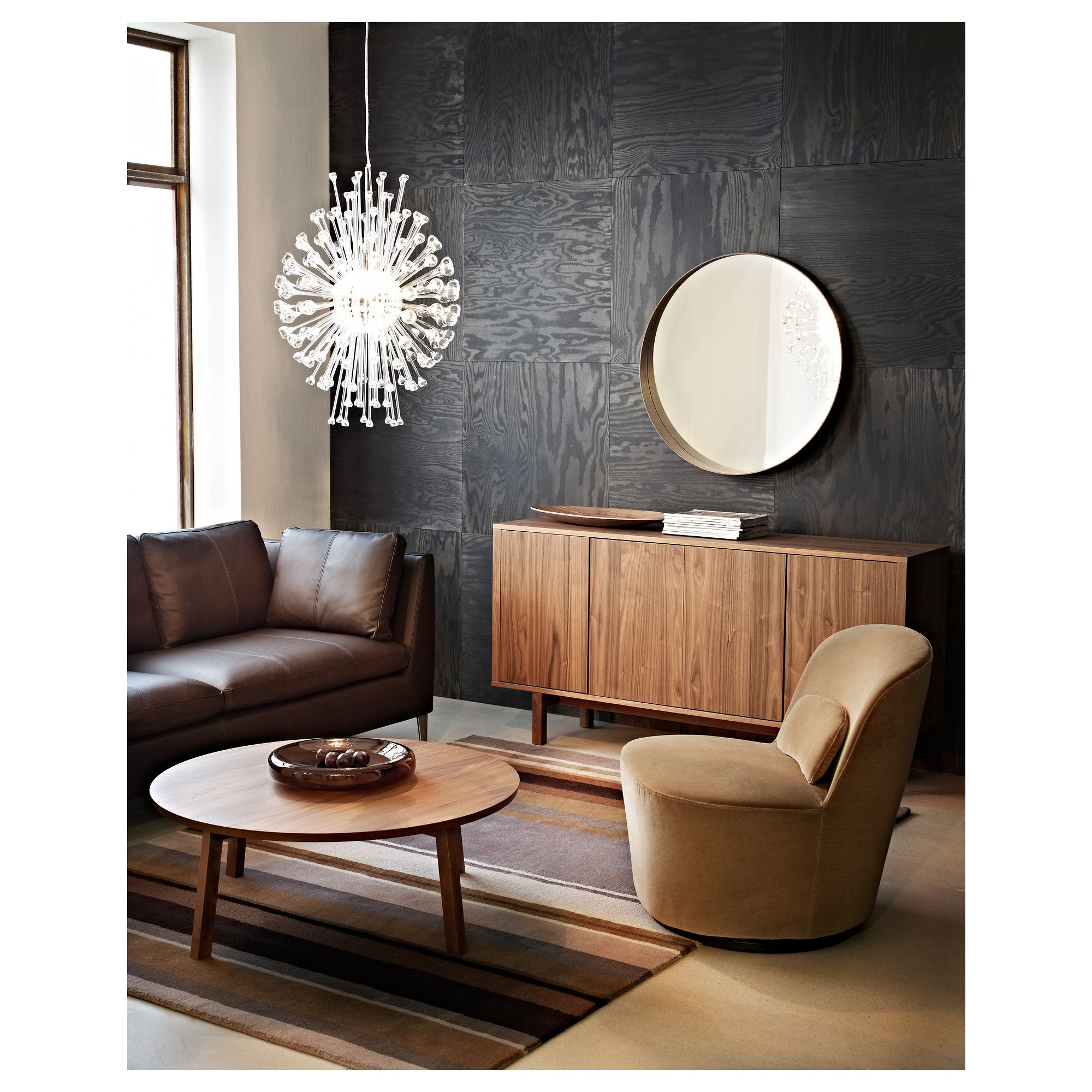 STOCKHOLM килим, къса нишка, 170x240 см, кафяво - IKEA ...