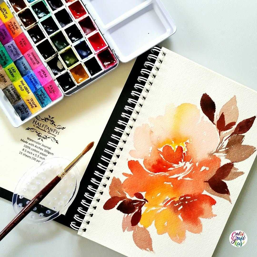 Testing This Halfpanph Sketch Journal The Paper Came From Arches