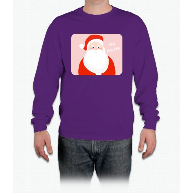 Jolly Santa Long Sleeve T-Shirt