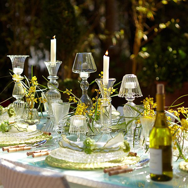 Outdoor Table Setting Ideas Amusing The Secrets To Hosting A Stunning Spring Gathering  The Secret Design Decoration