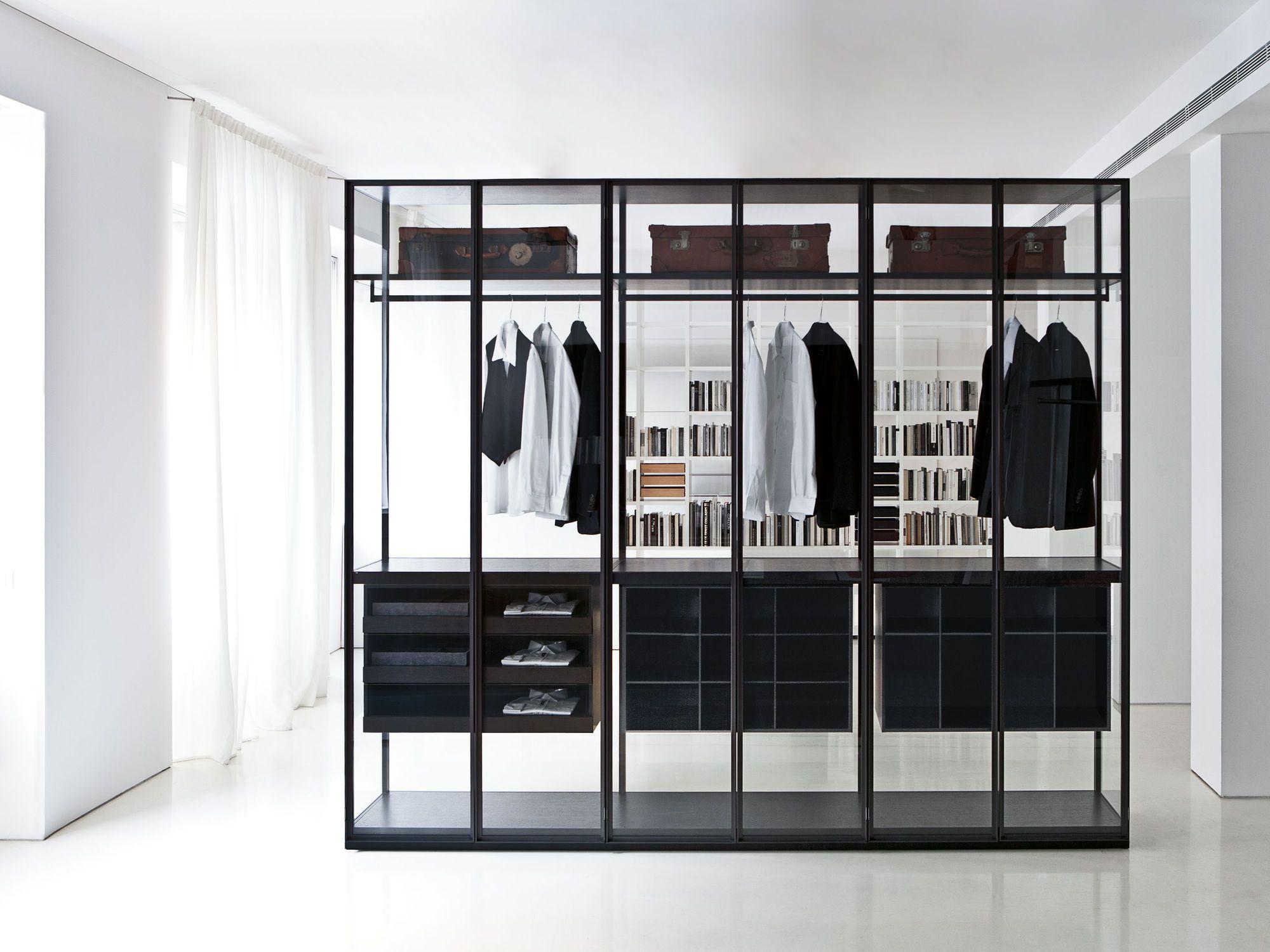 cabina armadio a parete / moderna / in legno / su misura - air