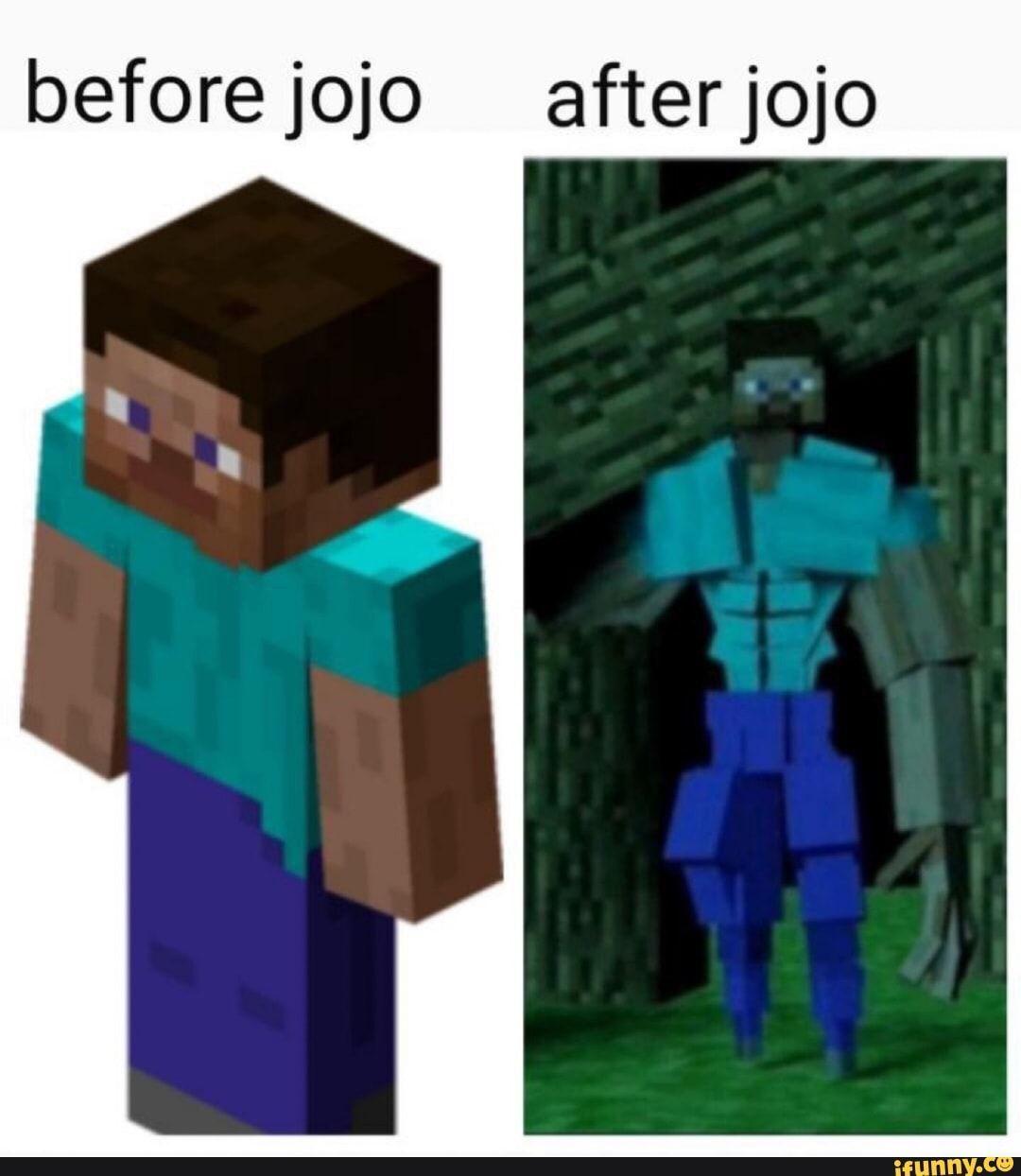 Before Jojo Afterjojo Ifunny Anime Memes Funny Jojo Memes