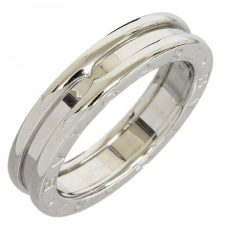 bvlgari 18k white gold b zero 1 one band bulgari ring wbox nice eu55