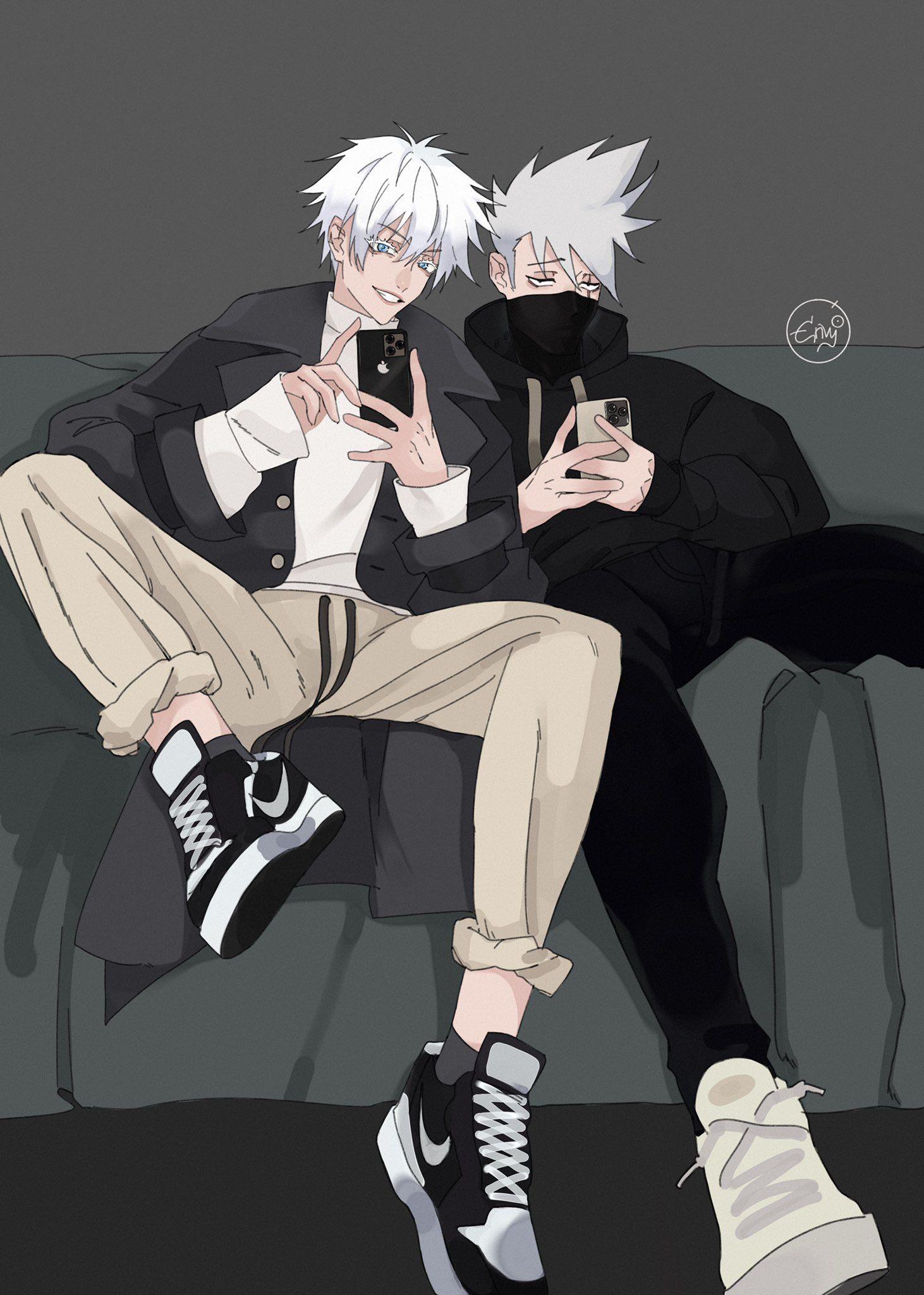 Envy04 On Twitter Anime Crossover Haikyuu Anime Jujutsu