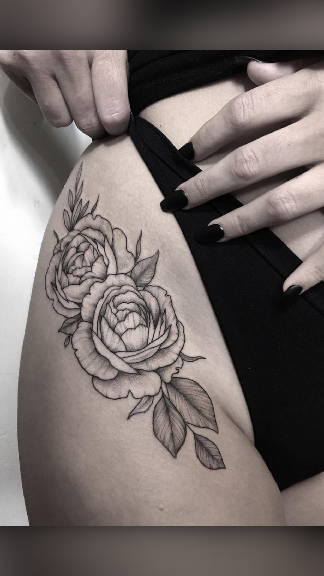 Pin By H On Tattoo Ideas In 2020 Hip Thigh Tattoos Hip Tattoos Women Floral Thigh Tattoos