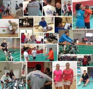 Cupa WePlay Tecnifibre: Record dupa Record. Weekend-ul trecut a avut loc a doua editie a cupei WePlay Tecnifibre din 2014, prima desfasurandu-se la sfarsitul lunii aprilie. Daca in prima runda s-au inscris 106 jucatori dintre care 15 fete, acum din 102 inscrisi, WePlay Brasov si-a trecut in arhiva recordul de participante: 21 de iubitoare ale squash-ului s-au intrecut pe tabloul principal... http://www.squashmania.ro/cupa-weplay-tecnifibre-record/