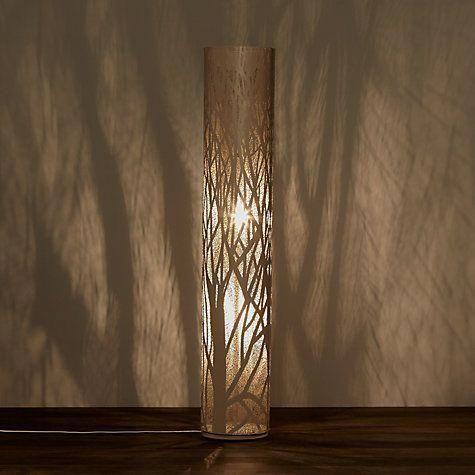 John Lewis Devon Floor Lamp Taupe