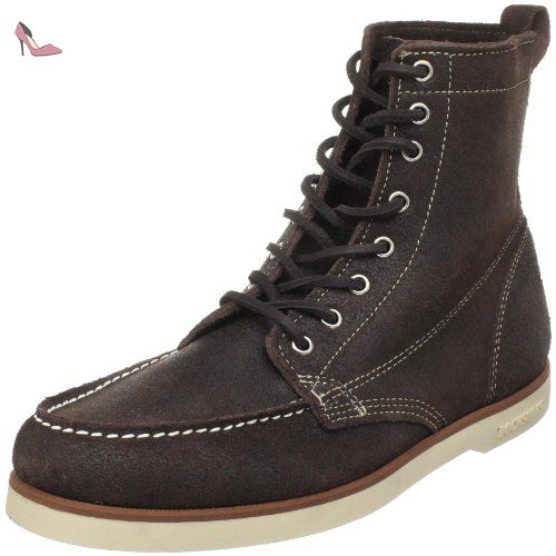 Boots Modelo Marron Color Marca Bottines Boots Sebago 8Czdqxw