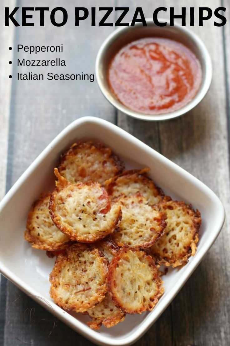 Easy Keto Pizza Chips – Featured in Food Blog Magazine!