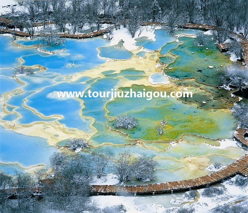 Beautiful Five-color Pool