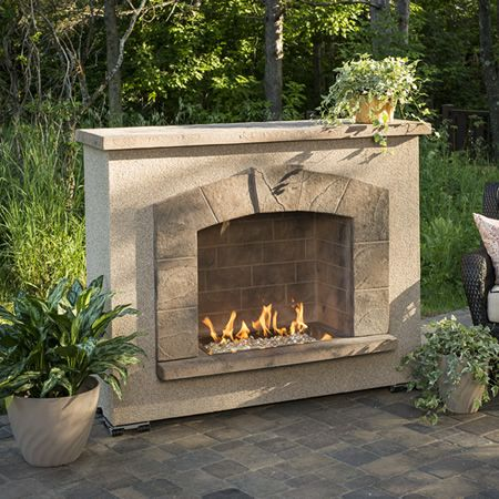 Stone Arch Gas Outdoor Fireplace Outdoor Gas Fireplace Outdoor Stone Fireplaces Outdoor Fireplace Kits