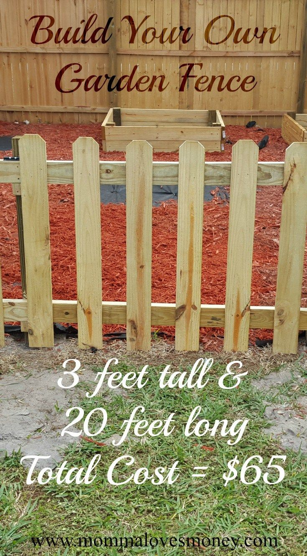 Build Your Own Diy Garden Fence Diy Garden Fence Diy Fence