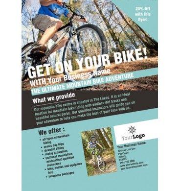 Bike Hire A6 Leaflets Bikes Design Print Freedom Leaflet